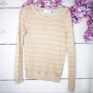 Sparrow | Gold Shimmer Sweater
